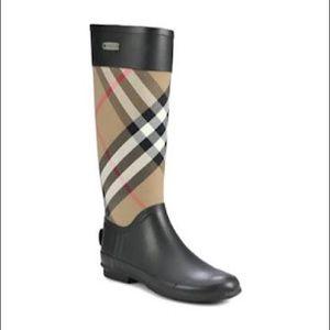 Burberry Clemence Rain Boots